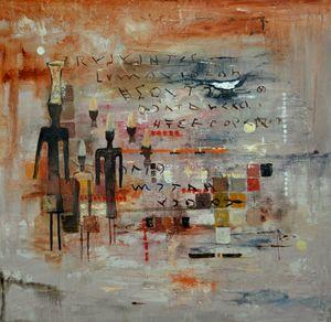 Phoenician memories - Pol Ledent's paintings