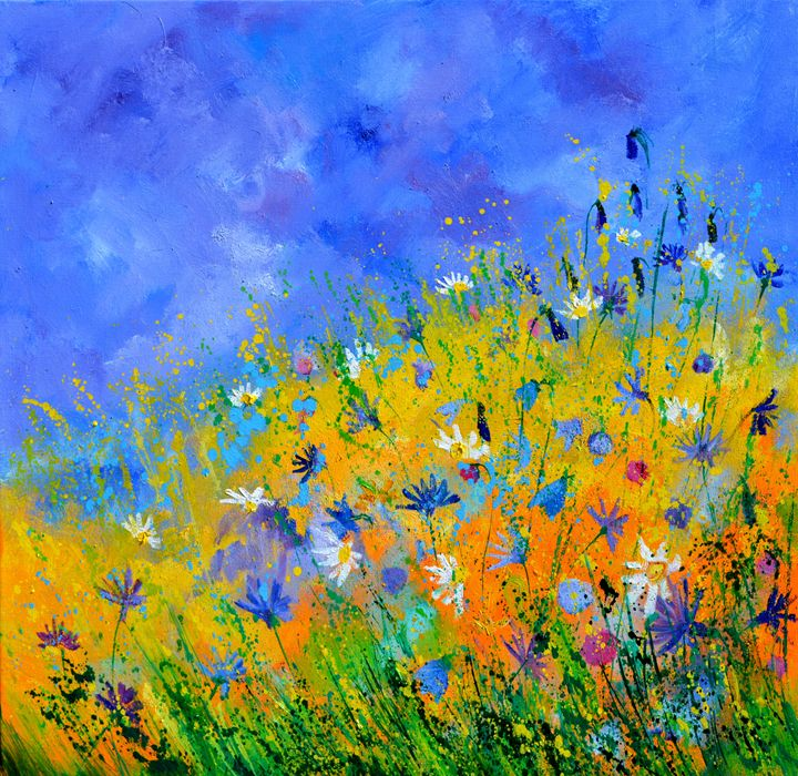 wild flowers 886160 - Pol Ledent's paintings