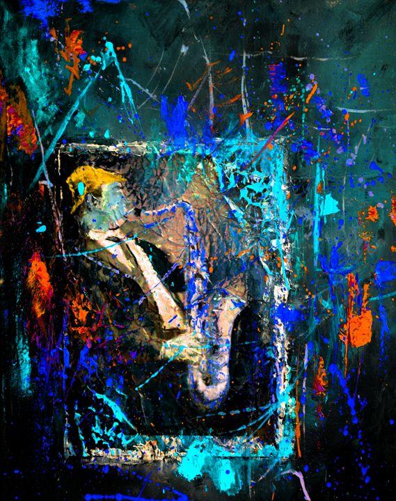 Saxy folly - Pol Ledent's paintings