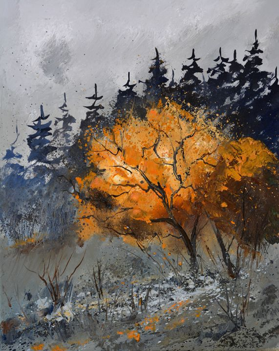 in the wood 455150 - Pol Ledent's paintings
