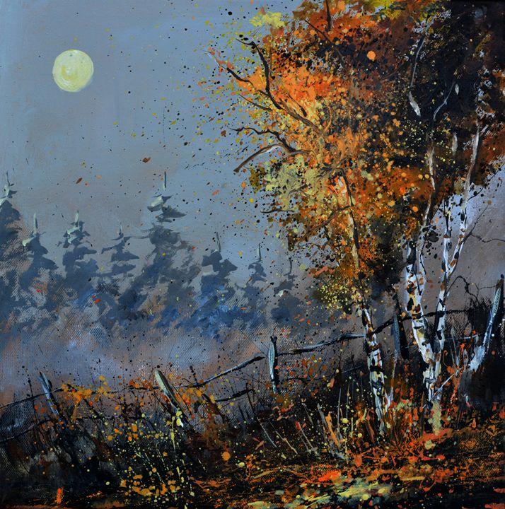 in the woodn  4551 - Pol Ledent's paintings