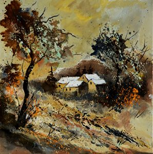 Autumn 446110 - Pol Ledent's paintings