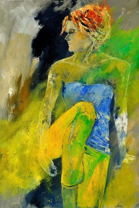 Caroline 572180 - Pol Ledent's paintings