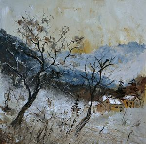 Nature 556121 - Pol Ledent's paintings