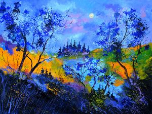 Magic landscape - Pol Ledent's paintings