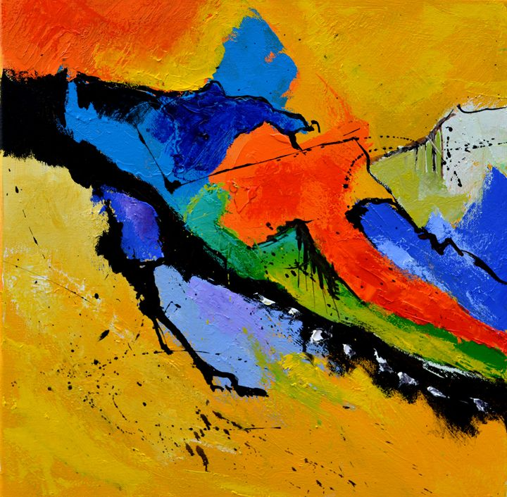bstract 5551802 - Pol Ledent's paintings