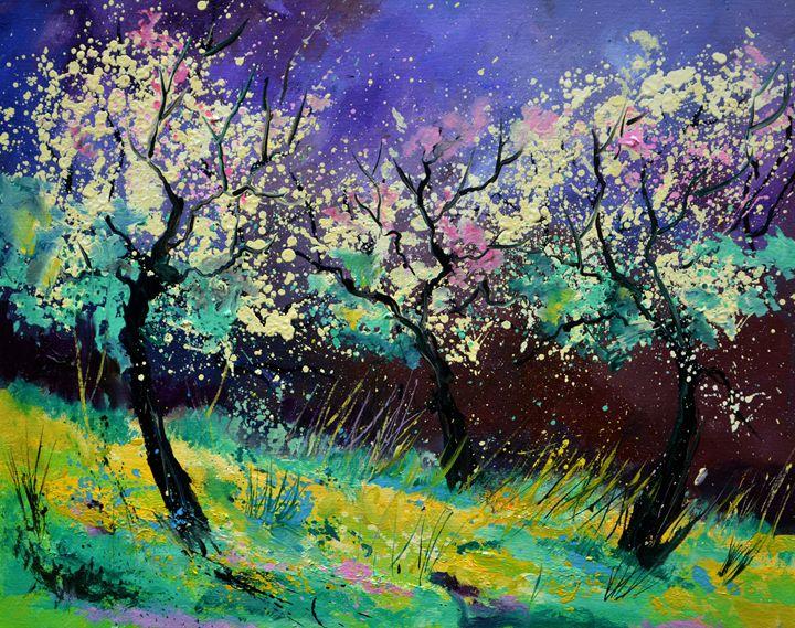 Appletrees 567130 - Pol Ledent's paintings