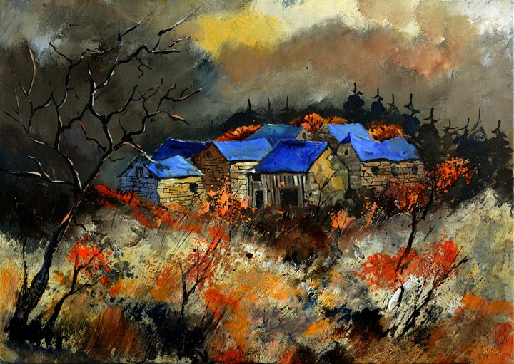 Just waiting for the witches' dance - Pol Ledent's paintings