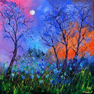 Magic wood 8881 - Pol Ledent's paintings