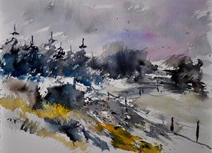 watercolor 1246 - Pol Ledent's paintings