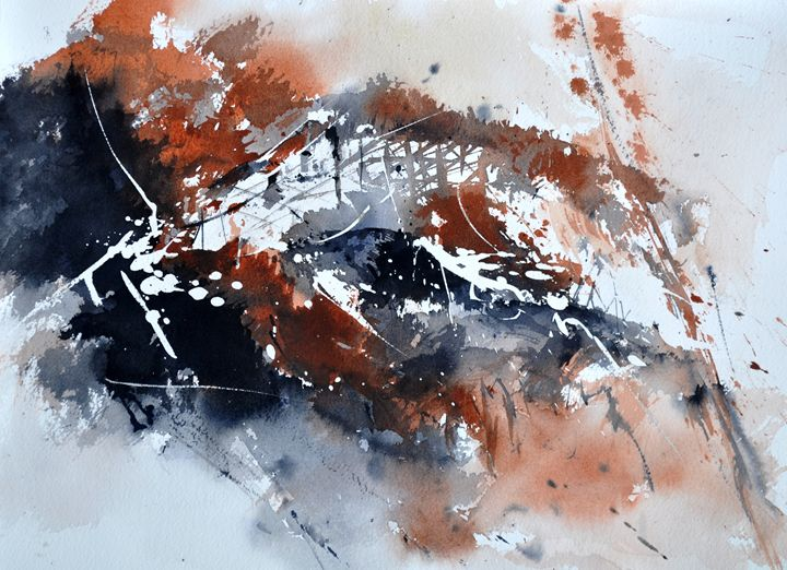 watercolor abstract 2545 - Pol Ledent's paintings