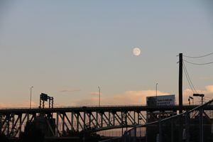 Bridge Silhouette in Pittsburgh