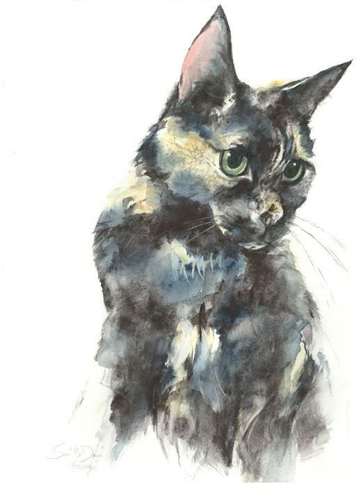 Hershey - Watercolors by Susi