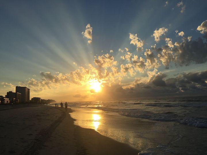 Atlantic Sunrise - Anna Marie Rhodes