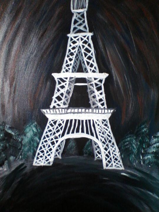 Eiffel Tower - Tamala Winstead