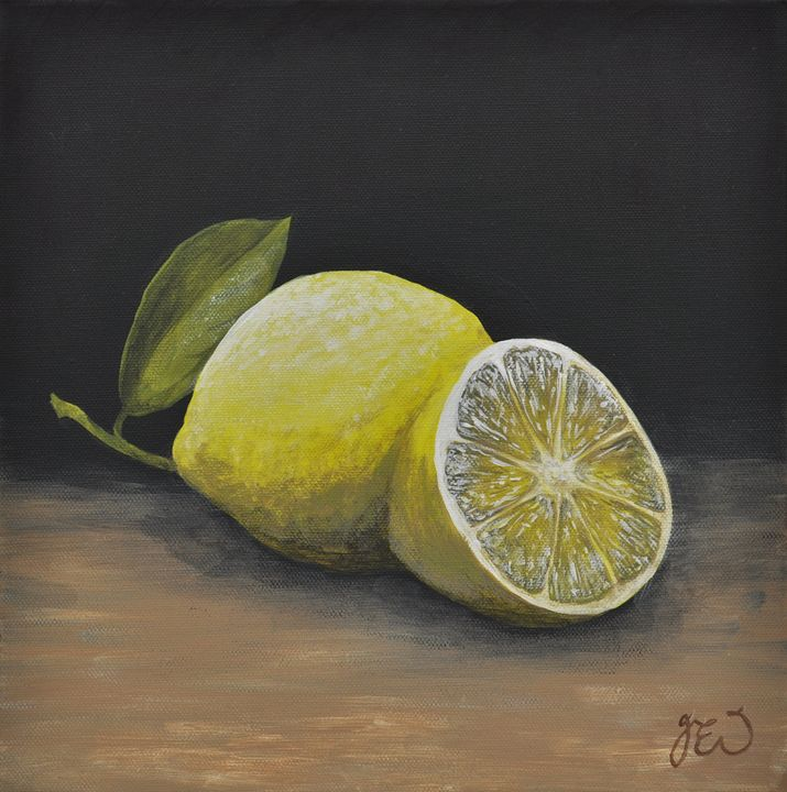 Citrus zesty lemons - James Ineson