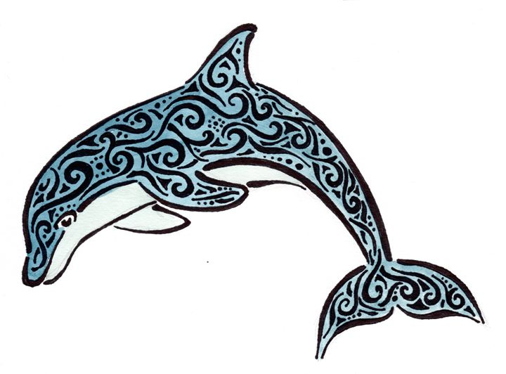 Tribal Dolphin - Primal Creatures