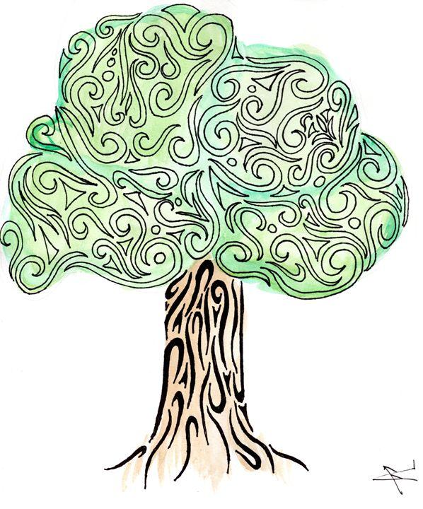 Tribal Oak - Primal Creatures