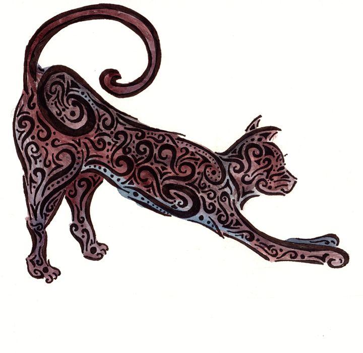 Black Cat Tribal - Primal Creatures