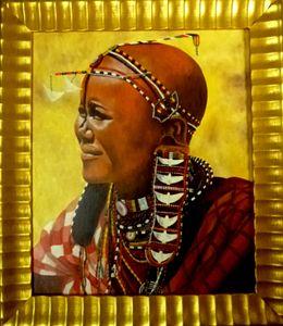 femme Maasaï