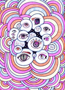 Hypno-Gaze in Pastel