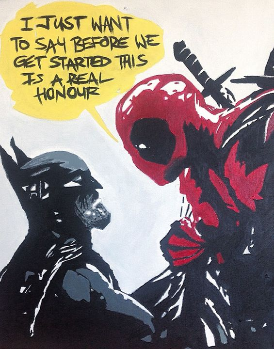 Batman v. Deadpool - JPIZZLECOMICS