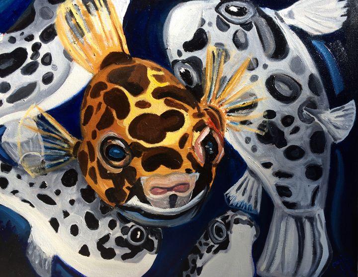 T. Nigroviridus - Tiffany Brazell Fine Art
