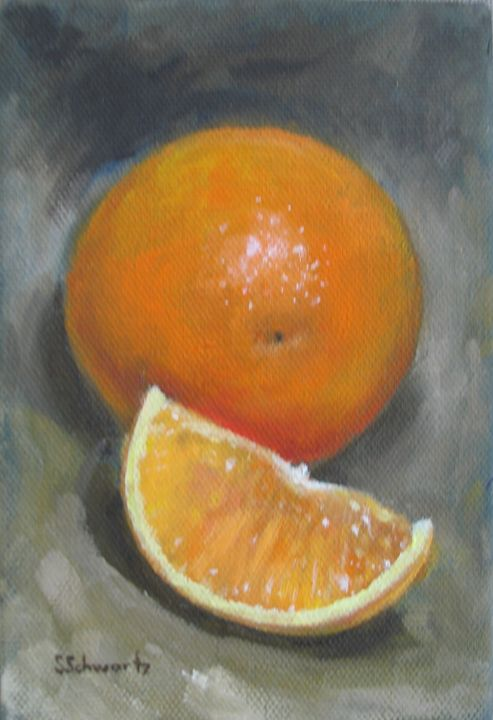 Juicy Orange - Lovelyartstudios