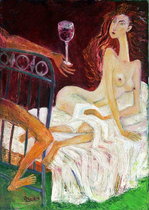 .In Bed - ZAKIR ART