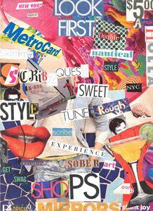 Scribz Original Collage
