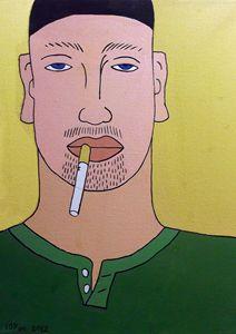 Portrait of a Smoker