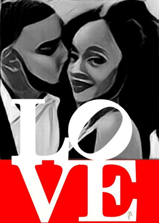 Love U4 life (red) - Hammonds Artistic Creations