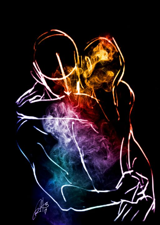 Embrace of lust - Hammonds Artistic Creations