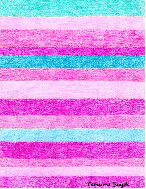 Springtime Stripes - Catherine Buyck