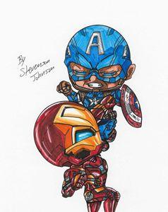 """ Ironman vs Captain America """