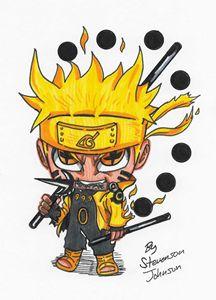 """6 Paths Sage Mode Naruto"""