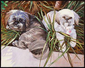 Puppies - philhopkinsfineart