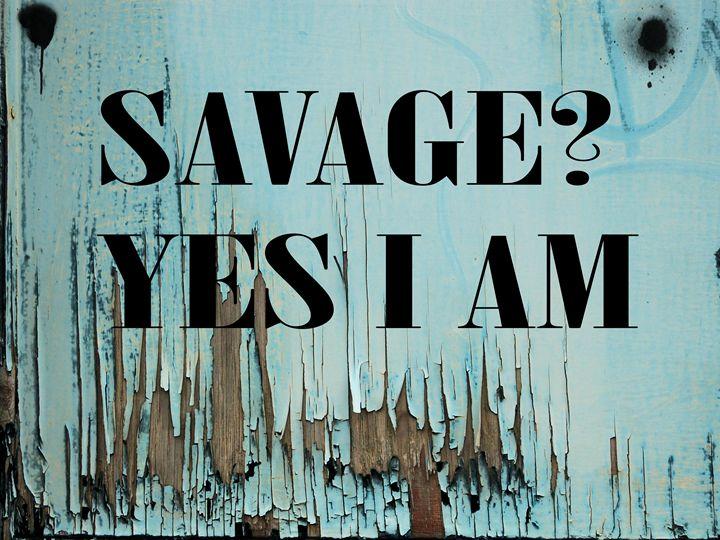 Savage - Jennifer Swinner Photography