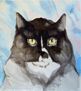 Muffin the cat - myke irving