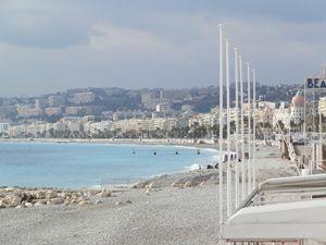 Scenic view of Nice Beach
