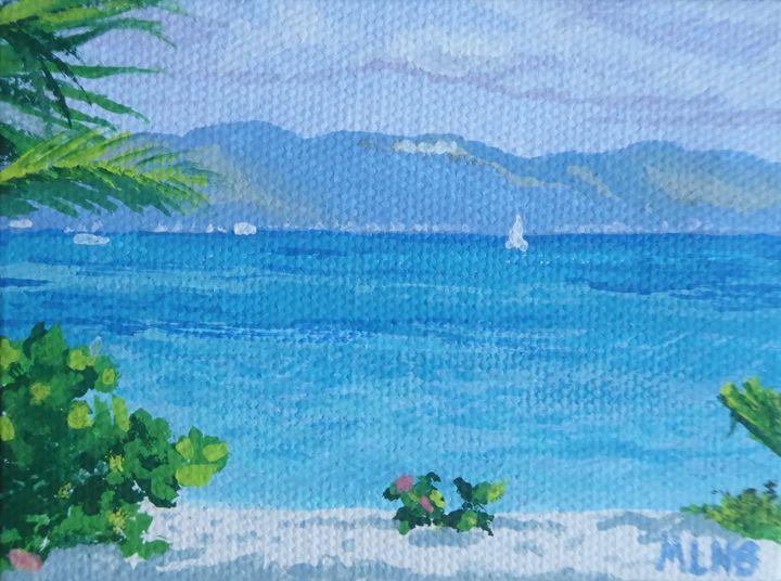St. Martin from Anguilla - Margaret LN Brooks
