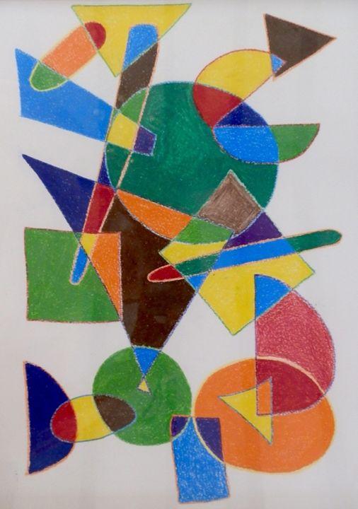 Scattered Shapes - Margaret LN Brooks