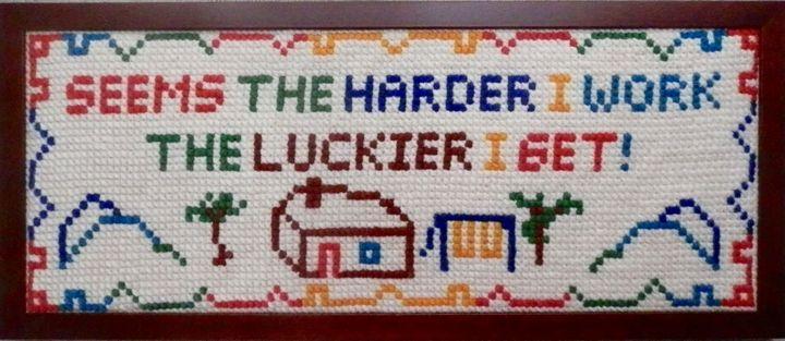 The Harder I Work - Margaret LN Brooks