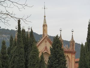 Monastery in the pines