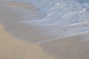 Wisps of sea foam
