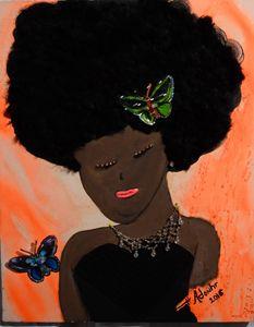 Little Afro Girl