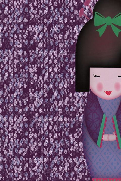 Little Geisha Purple - .::MoonDreams::. Designs