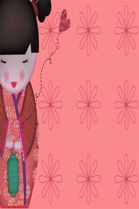 Little Geisha Pink - .::MoonDreams::. Designs