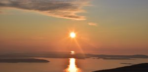 Sunrise- the pleasant view