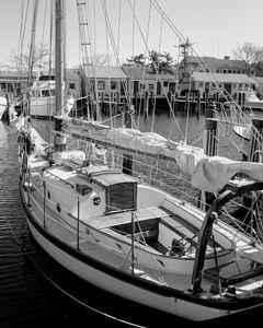 Sailing Boat, Nantucket, USA - Gemo Art